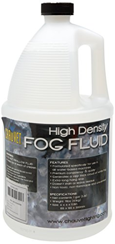 CHAUVET DJ High-Density Fog Machine Fluid - One Gallon | Fog Machines (Juice Smoke)