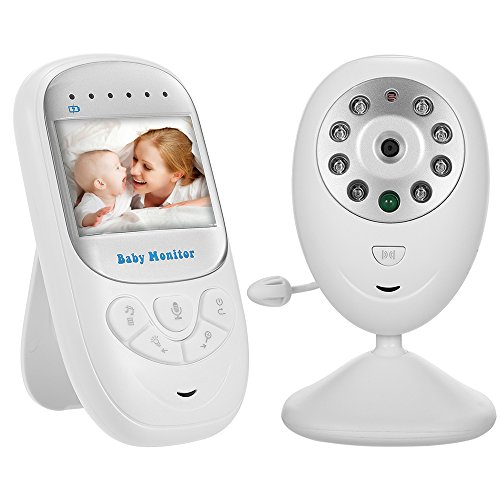 2.4G-Safe Audio Video Baby Monitor with Night Vision, Two-Wa