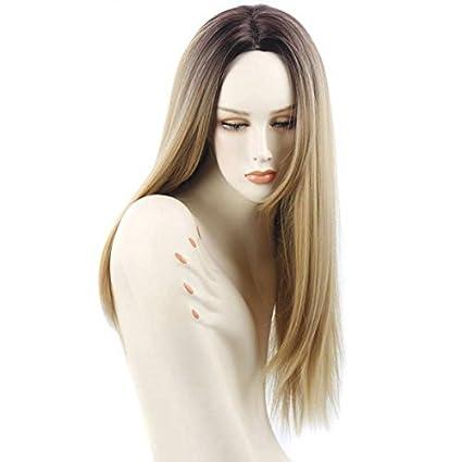 Perruque Blonde Femme Ombre - 26 Inch Vrai