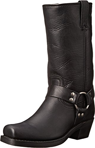Square Toe Harness Boots - 6