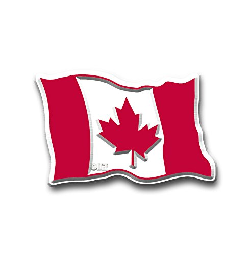 CANADIAN STATE FLAG MAGNET