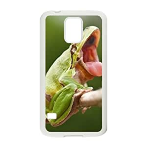 Frog Unique Design Cover Case for SamSung Galaxy S5 I9600,custom case cover ygtg530368