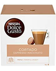 Nescafé Dolce Gusto Cortado Espresso Macchiato, Caffè Macchiato 6 Confezioni da 16 Capsule, 96 Capsule