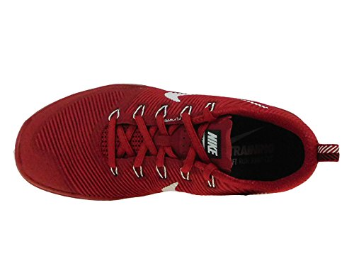 Nike Mens Free Train Versatility Gym Red/White/Black Nylon Cross-Trainers Shoes 8 M US