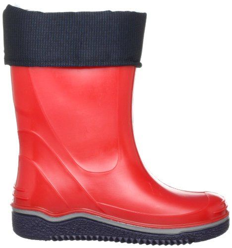 Nora Paolo 72616, Unisex-Child Boots Wellingtons Red (Red 12)