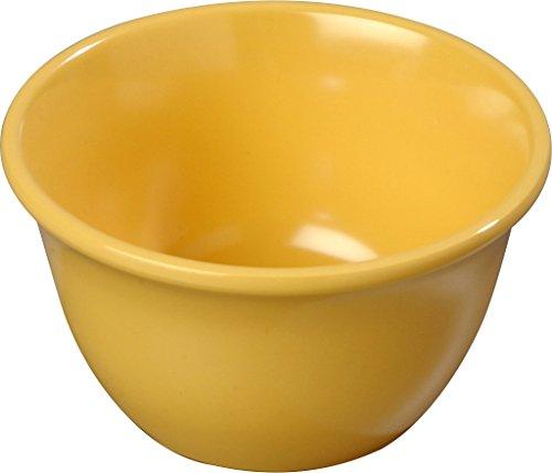 Carlisle (4305022) Bouillon Cups, Set of 48 (7-Ounce, Melamine, Honey Yellow)