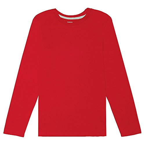 French Toast Boys' Long Sleeve Crew Neck Tee