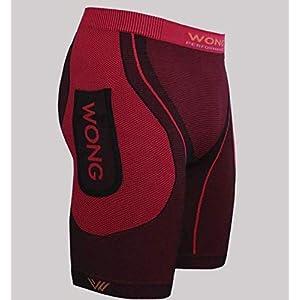Wong Malla Plus Rojo | Mallas Cortas Unisex