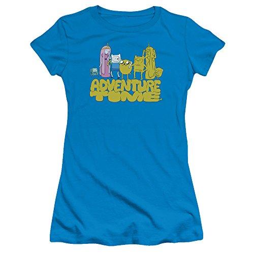 T Turquoise Friends Pour Time Jakes Adventure Jeunes Femmes shirt fw6Txq
