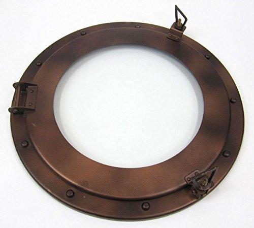 (Iron Porthole Glass Window Diameter 15