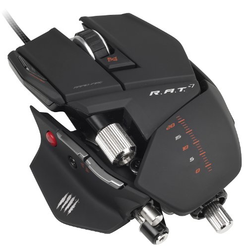 - Mad Catz R.A.T.7 Gaming Mouse for PC and Mac
