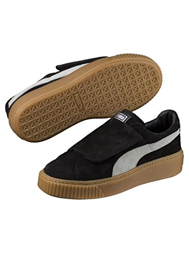 Grigio Marrone 03 40 Strap 365224 Nero Sneakers Nero Puma Wn's Platform RwnaFqgAcT