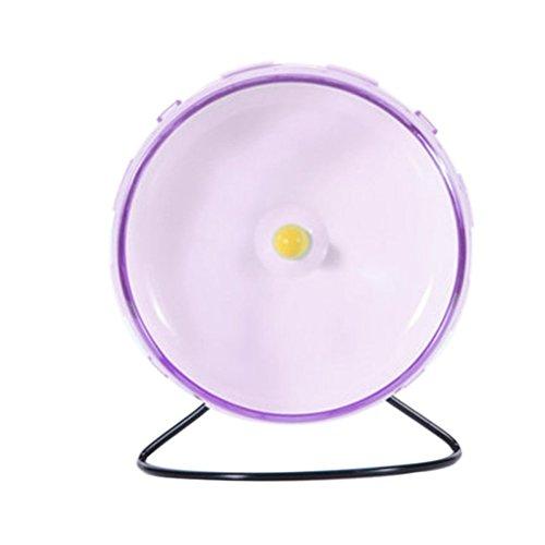 Yinrunx Pet Hamster Wheel Silent Spinner,Hamster