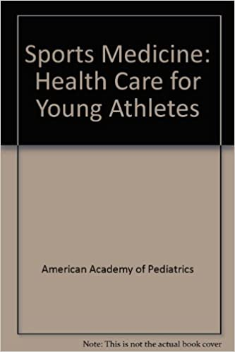 Book Sports Medicine: Health Care for Young Athletes