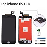 iphone 6s 4.7 inch Retina LCD Touch Screen Digitizer Glass Replacement Full Assembly with repair kit (black)