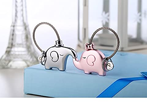 Milesi elephant for lovers gift bag pendant a couples key ring Trinket key chains car keychain chaveiro innovative -- Silver & - Silver Horse Coin Set