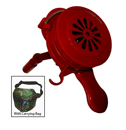 Viking Horns VMS-100P PLASTIC Loud Hand Crank Manual, used for sale  Delivered anywhere in USA
