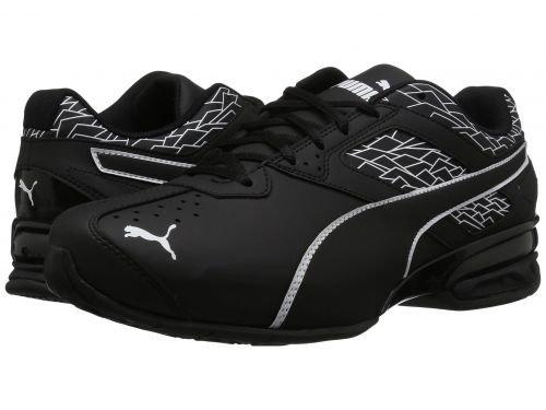 PUMA(プーマ) メンズ 男性用 シューズ 靴 スニーカー 運動靴 Tazon 6 Fracture FM Wide - Puma Black/Puma Black [並行輸入品] 9.5 EE - Wide  B07BM33KJ6