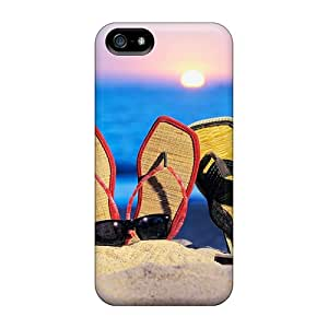 [eCu22588fNeV]premium Phone Cases For Iphone 5/5s/ Beach Sandals Cases Covers