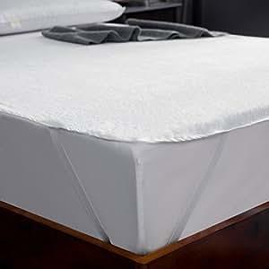 Amazon.com: AYASW Protector de colchón impermeable de tamaño ...