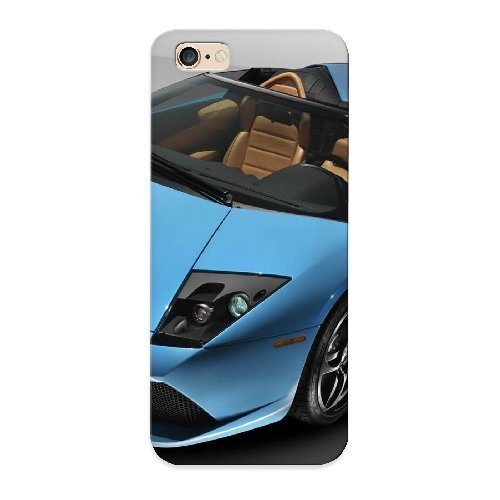 New Blue Lamporghini Tpu Case Cover, Anti-scratch Freshmilk Phone Case For Iphone 6 Plus (Girly Iphone 6 Accesories compare prices)