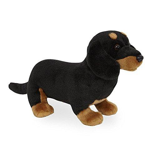 Animal Alley - 10.5 inch Sitting Stuffed Dog - DACHSHUND