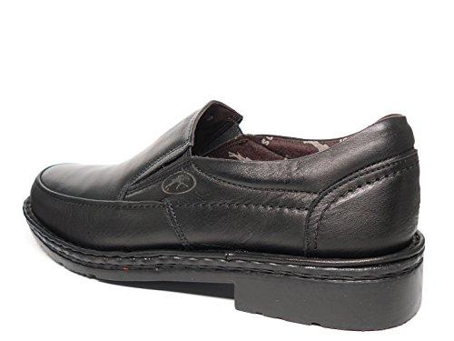 4 7262 Disponible En Piel Negro Tipo Con 3 Y Elásticos Laterales Hombre Fluchos Zapatos Mocasín Marrón qfwgnSZ4