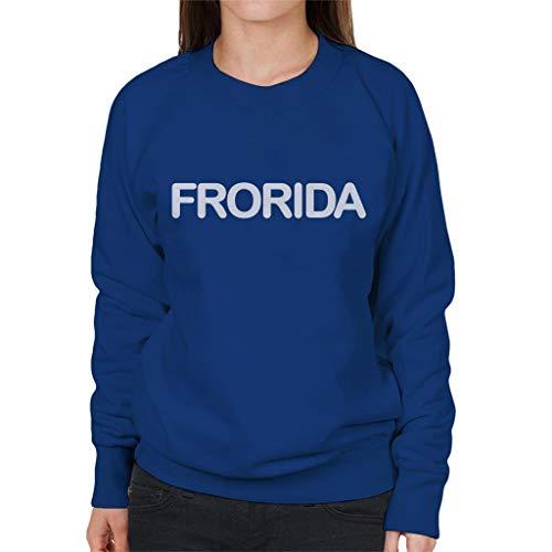 Royal Coto7 Women's Blue Frorida Sweatshirt Xw0fA