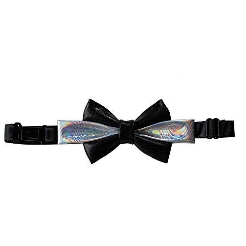 Cloud Rack Bow Tie Pure Black Double Silver