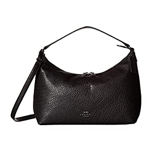 COACH Women's Pebbled Leather East/West Celeste Convertible Hobo