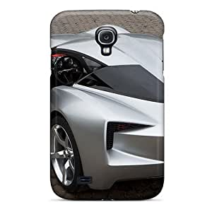 Excellent Galaxy S4 Case Tpu Cover Back Skin Protector Chevrolet Stingeray Concept