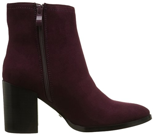 Buffalo Women's B006a-58 S0002j IMI Suede Ankle Boots Red (Burgundy 01) 0lEpyIIFGA