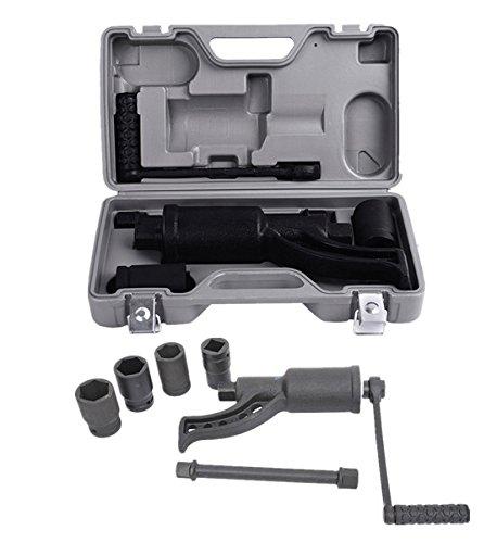 Comie Heavy Duty Torque Multiplier Set Wrench Lug Nut Labor Saving Wrench Lugnuts Remover Truck Trailer RV Semi 4pcs Sockets - Heavy Lug Wrench Truck Duty