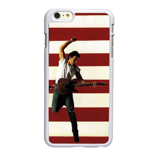 Bruce Springsteen Born In The Usa Q9N23B5NP coque iPhone 6 6S 4.7 Inch case coque white V3BSVM