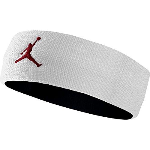 Jordan Jumpman Headband Mens Style : 619337 White/Black Gym/