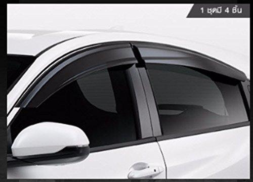 Details about  /4pcs JDM Out-Channel Rain Guard Deflector For Honda HR-V HRV 2015-2016 15-16