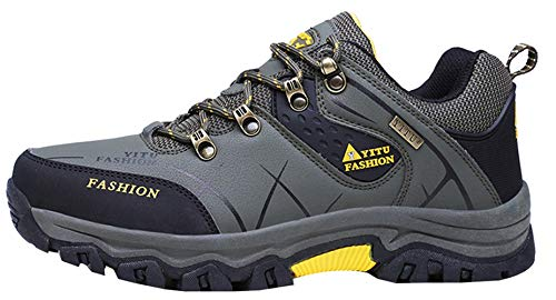 Sneaker Top Army Outdoor trekking Insun Walk Trekking Scarpe da Outdoor Antiscivolo Man Green Low wHnqz0p