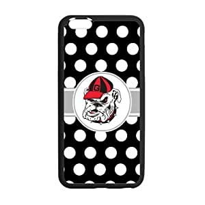 Onshop NCAA Georgia Bulldogs Custom Case for iphone 5s (Laser Technology)
