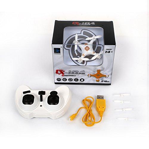 Metakoo-Cheerson-CX-10A-mini-RC-Quadcopter-sin-cabeza-Modo-24G-4-canales-6-Eje-Mini-Helicptero-aviones-drone