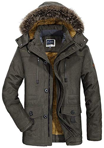 Jacket Jacket Jacket Winter Winter da Kapuzenparka Coat BIRAN BIRAN BIRAN Coat Parka Winter 1 Unico Jacket grün Uomo Pagliaccetti Jacket Calore Coat Mens Hooded XaxOFp