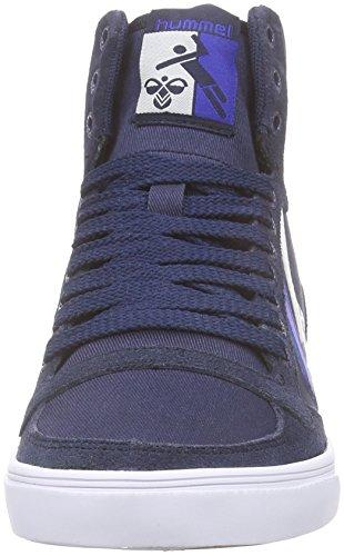 Stadil Eclipse 7364 Blu Adulto Hummel Sneaker Slimmer Unisex total Alte Hi Duo blau 5BPqa