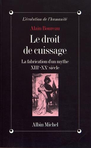 Droit de Cuissage (Le) (Collections Histoire) (French Edition) by Albin Michel