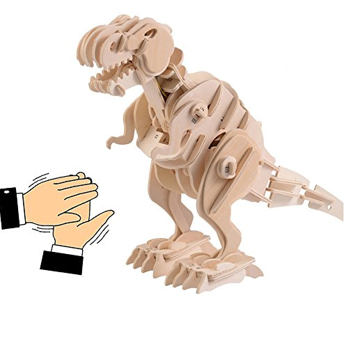 Robotic 3D Wooden Simulation Animal Dino - Wooden Animal Models Shopping Results