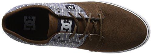 DC TONIK SE M SHOE XBKC - zapatilla deportiva de cuero hombre Azul (Brown / Blue)