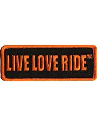 LIVE LOVE RIDE FUN NEW COOL Embroidered Motorcycle Biker vest Patch PAT-3130