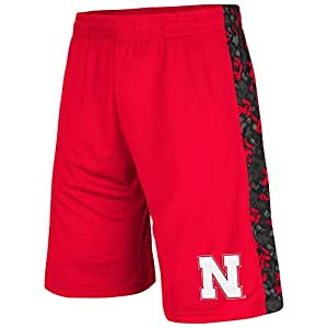 Mens NCAA Nebraska Cornhuskers Basketball Shorts (Team Color) - 2XL