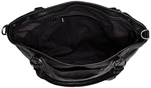 Cowboysbag Bag Bridgewater, Borsa A Tracolla da donna Nero (Black 100)