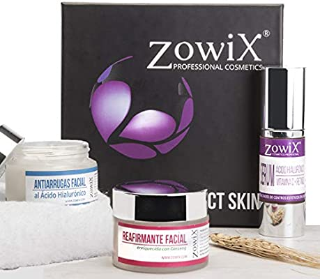 Zowix. Pack regalo mujer de Cosmetica Natural. Lote cremas ...