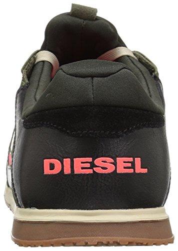 Diesel Mænds Remmi-v S-furyy Sneaker Asfalt / Paradis / Sort PKfECUkbu