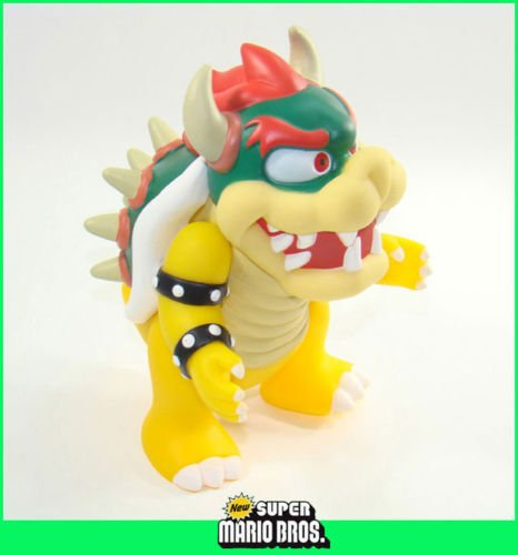 Niky's Gift SUPER MARIO BROTHERS MOVABLE FIGURE FIGURINE BOWSER 4""